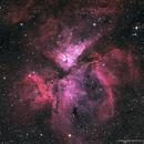 Eta Carinae Nebula - NGC 3372,                                Bob Gillette