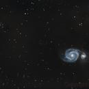 Ma toute première image avec un telescope (M51 au 200/1000) Get