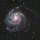 M101 - Pinwheel Galaxy (via OSC),                                MGralike