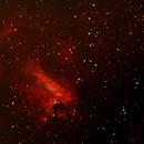 The Omega nebula M17 - EAA,                                MikeHuerto