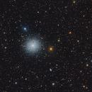 M13 Great cluster in Hercules,                                Alberto Pisabarro