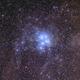 2016 Pleiades M45 Aut with Zenit Jupiter-11A 135mmf4 lens + 550D,                                Rocco Parisi
