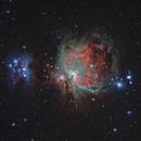 M42 - Orion Nebula,                                Alain POYVRE