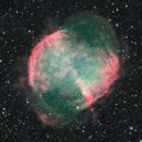 The Dumbbell Nebula - (HaR)RGB - Liverpool Telescope public data,                                Julien Lana