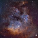NGC 7822 SHO,                                Hartmuth Kintzel