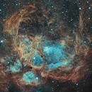 War and Peace nebula  / Sleeping monkey,                                Patrick Dufour