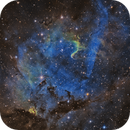 sh2-132 - The Core of the Lion Nebula : with WR153ab,                                Jonathan W MacCollum