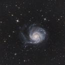 M101 Pinwheel Galaxy,                                Ymevel