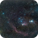 Ghostly region around Orion,                                Greg Bock