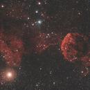 IC 443 - Nébuleuse de la méduse,                                Ludovic