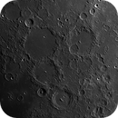 Large crater near the moon's equator,                                Ofer Gabzo