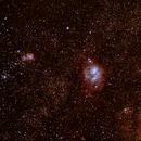 The Lagoon and Trifid Nebulae,                                Charlie Prince