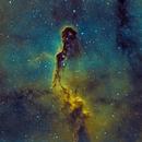 Elephants trunk Nebula HST - 102mm F/7,                                Zak Foreman