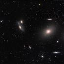 Galaxies In Virgo ,                                Joshua Hufford