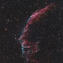 Eastern Veil  RGB + OIII,                                sky-watcher (johny)