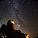 Milkyway over my Observatory,                                Günther Eder