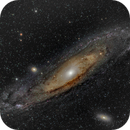 M31 Andromeda,                                Brutek