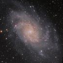 Messier 33 - The Triangulum Galaxy [Tri] in L-RGB,                                G400