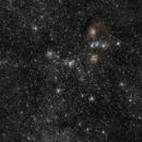 M38 / M36 / Flaming Star Nebula (Wide Field),                                star-watcher.ch