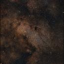 Sommernachtshimmel: M17, M24, IC 1284 und Freunde mit Nikon d810a,                                Gottfried Meissner