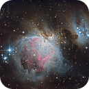 Orion Nebula HDR attempt,                                chaosrand