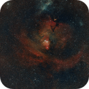 NGC 2264 Cone Nebula and Christmas Tree Cluster (SHO widefield),                                Roland Schliessus
