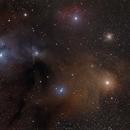 Rho Ophiuchus Region,                                John Noble