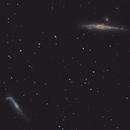 Whale and Hockey Stick Galaxy,                                christianhanke