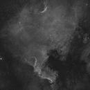NGC 7000 Ha+HaRGB,                                mihai