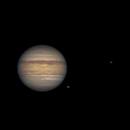 Jupiter, Ganymede, Io & Europa,                                Francesco Cuccio
