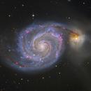 M51 HaLRGB,                                Kevin Morefield
