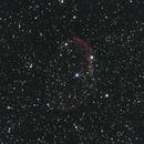 NGC 6888 - The crescent nebula - 20 minutes integrated,                                Jason R Wait