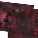 NGC7000-IC1318 composite,                                simon harding