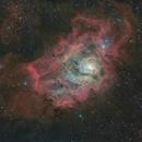 Lagoon Nebula - Messier 8,                                Delberson