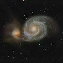 Whirlpool Galaxy,                                Ross Walker