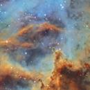Into the core of the Rosette Nebula (NGC2237),                                Andrew Klinger