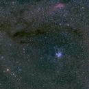 Wide Angle - 50mm - Perseus, M45,  California Nebula,                                Zak Foreman