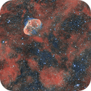 PNG75.5+1.7-NGC6888 Crescent nebula (BiColor HOO),                                Marco Stra