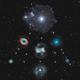 Firework of planetary nebulas in a christmas tree.,                                Jeffbax Velocicaptor
