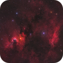 Reprocessed Cave Nebula and Friends Wide Field HaOIIIRGB,                                Christopher Scott