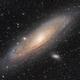 M31 Andromeda Galaxy,                                Valentin Thélier