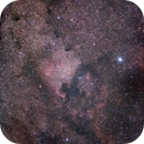 NGC 7000 Wide Field with Nikkor 105mm,                                Jacopo Fallai