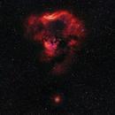 NGC 7822 in HaOIIIRGB,                                astrodoud