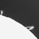 Solar prominence/ 09:13-10:44 UTC/ 12.09.2016,                                Pawel Warchal