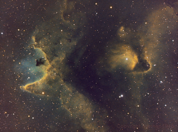 IC1848 Soul Nebula - Small Piece,                                niteman1946