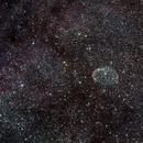NGC6888 Cresent Nebula,                                Hugues Obolonsky