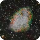 Crab Nebula (Messier 1) from Liverpool Telescope; Natural Looking,                                Miles Zhou