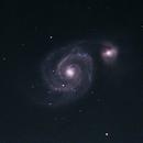 M51 - Whirpool Galaxy,                                Dave Beadle
