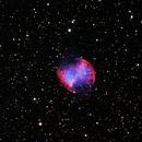 M27 Dumbbell Nebula,                                Gilbert Ikezaki