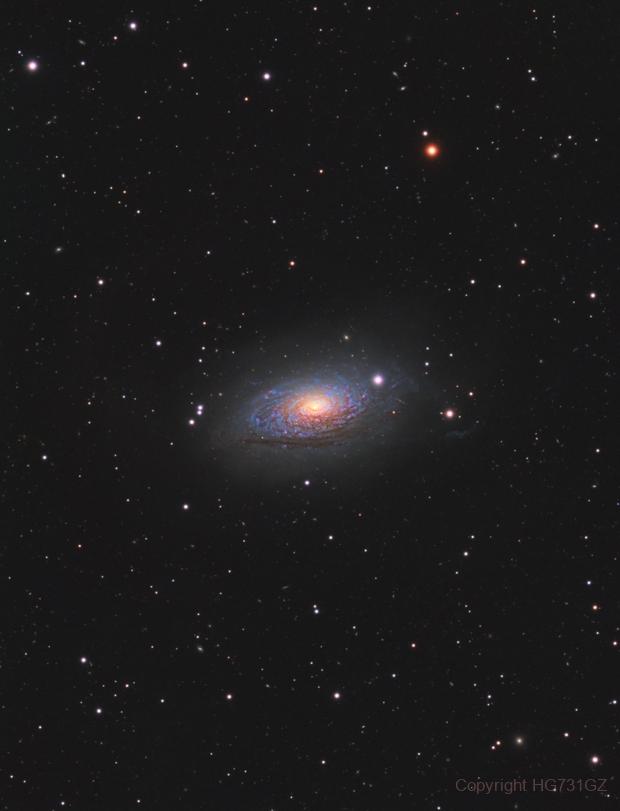 M63 Sunflower Galaxy,                                我可是汞